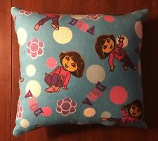 Adorable Handmade Fleece Dora The Explorer Accent Pillow