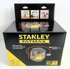 Stanley FatMax 360 Line Laser Level with Cross Line NEW SLL360 - FMHT77137
