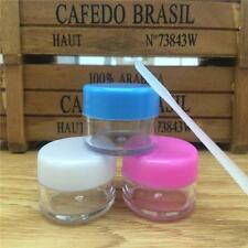 Cosmetic Empty Jar Pot Eyeshadow Jar Face Cream Lip Balm Container Colorful GZ