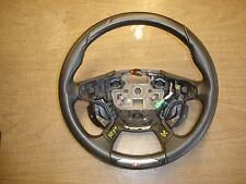 13 14 FORD FOCUS ST BLACK LEATHER STEERING WHEEL OEM USED STOCK W/ CONTROLS