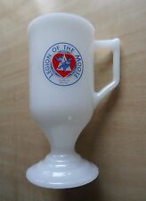 1978 Loyal Order of Moose Legion Ceremonial Grand Herder Horton Mug Cup Glass