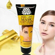 Gold Whitening Facial Face Mask Moisture Peel Off Anti-Aging Remove Wrinkle Care