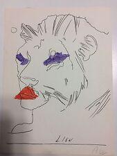 Andy Warhol Litografia Lion