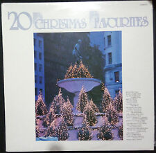 VARIOUS ARTISTS - 20 CHRISTMAS FAVOURITES VINYL LP AUSTRALIA