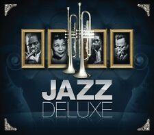 Jazz Deluxe 3 CD NUOVO Les Brown/Sonny Rollins/Miles Davis/Billie Holiday