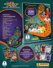 Road To World Cup 2018 Adrenalyn XL Complete Set Of 531 Cards in Binder + 3 ltd