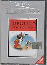 TREASURES TOPOLINO STAR A COLORI Z3 DV  0137 DVD DISNEY  SIGILLATO!!!
