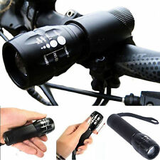 240 lumen Q5 Cycling Bike Bicycle LED Front HEAD LIGHT Torch LARM With Mount EA