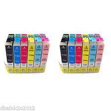 12 Pack INK FOR EPSON T078  ARTISAN 50 R260 R280 R380 RX580 RX595 RX680 NON-OEM