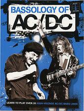 BASSOLOGY of  AC/DC TAB Bass Guitar Music Book Learn