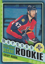 12-13 O-Pee-Chee Colby Robak Marquee Rookie Black Rainbow /100