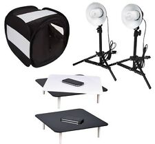 New studio in a box still life photography jewellery tent & reflective riser