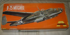 AURORA  B-25  MITCHELL BOMBER  1/48  1969  BOX AND INSTRUCTIONS ONLY