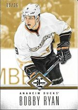 12/13 Panini Limited Gold Parallel #45 Bobby Ryan #05/25