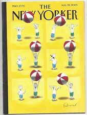 The New Yorker ~ August 22, 2005 ~ Falconer ~ Target Ad issue ~Billy Graham