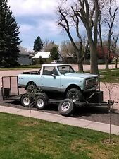1975 International Harvester Scout removable hard top, bimini cover, roll bar,