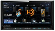 "Kenwood 6.95"" Double Din Receiver w/ USB HD and built in Blueooth DDX672BH"