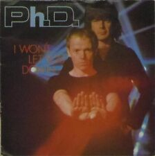"""Ph.D. 'I WON'T LET YOU DOWN' UK PICTURE SLEEVE 7"""" SINGLE"""