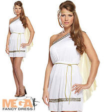 Ladies Roman Woman Ancient Rome Fancy Dress Historic Adults Costume UK 10 12 14