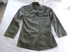 Iraqi Saddam-era FEMALE Ba'ath Militia (Popular Army) Military Jacket; 80s Iraq