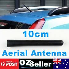 Universal Black Short Stubby Car Antenna AM/FM Radio Aerial Mast Screw Type OZ