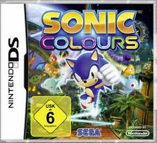 Nintendo DS 3ds Sonic Colours alemán como nuevo
