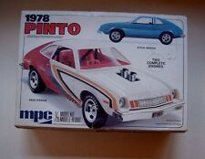 1978 FORD PINTO MPC 1/25 MODEL KIT WITH TWO ENGINES, DECALS & BUILD INSTRUCTIONS