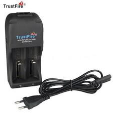 TrustFire TR-006 Dual Channel Slot Charger for 18650 26650 25500 Battery EU S5JM