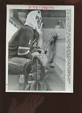 September 17 1963 Jacques Plante Rangers Training Camp 7 X 9 Hockey Photo