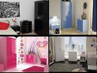 Ottawa High Gloss Bedroom Furniture Sets Boys Girls Pink White Black Blue