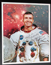 AUTHENTIC Fred Haise NASA astronaut signed 8 x 10  Litho!  Apollo 13