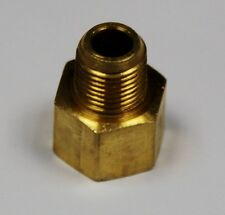 "Brass Fittings: Inverted Flare Connector, Male Pipe 1/8"", Tube OD 5/16"", QTY. 25"