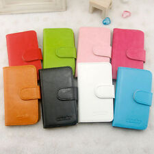 For HTC Incredible S Phone case Leather Case Simple Style Coloful Case G11