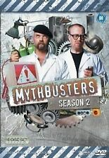Mythbusters : Season 2 (DVD, 2008, 7-Disc Set) BRAND NEW FREE POST!