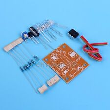 LM358 Breathing Light Suite Electronic Components DC 9V DIY Kits For Teaching