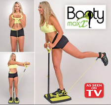 Booty Maxx As Seen On TV Exercise Resistance Fitness Workout DVD/Nutrition Guide
