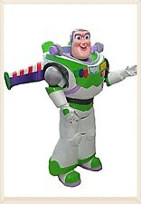 BUZZ LIGHTYEAR ASTRONAUT MASCOT FIBER GLASS HEAD COSTUME ADULT SIZE