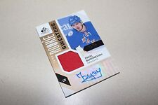 2016/17 SP GAME USED EDITION - PAVEL BUCHNEVICH AUTO ROOKIE SWEATERS PATCH /99