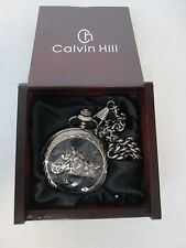 Calvin Hill Motorcycle Pocket Watch