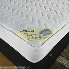"4ft 6"" Double MICRO QUILTED SOFT TOUCH MATTRESS 13.5G OPEN SPRING Free Delivery"