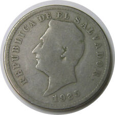 elf El Salvador 10 Centavos 1925 (S) San Francisco Mint