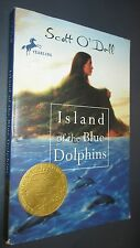 Island of the Blue Dolphins Softcover Book by Scott O'Dell Classic 0440439884