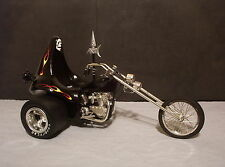 1/8 REVELL EVIL IRON KNIGHT RIDER CHOPPER TRIKE   EXCELLENT BUILD!!