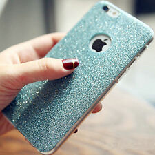 Luxury Glitter Matte Silicone TPU Phone Bag Case for iPhone6 6s/Plus 5s SE Cover