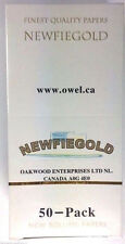 Newfiegold 50 Books of 50 Sheets Cigarette Rolling Papers 2500 Single Wide 1.0