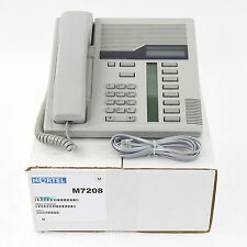 Nortel Norstar M7208 Gray Meridian Telephone Set - Top Quality Ref 1 Yr Warranty