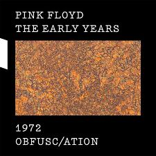PINK FLOYD New 2017 OBFUSCATION 1972 DVD, BLU RAY & 2 CD BOXSET