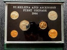 ST. HELENA & ASCENSION 1984 6 Coins  Proof Set