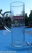 BICCHIERE BOCCALE BALON CHOPP BIRRA CUSQUENA PERU 0.5 L. CUSQUEñA