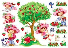 Strawberry Shortcake Childrens pegatinas de pared calcomanías extraíbles Cuarto De Niños Tc 6036